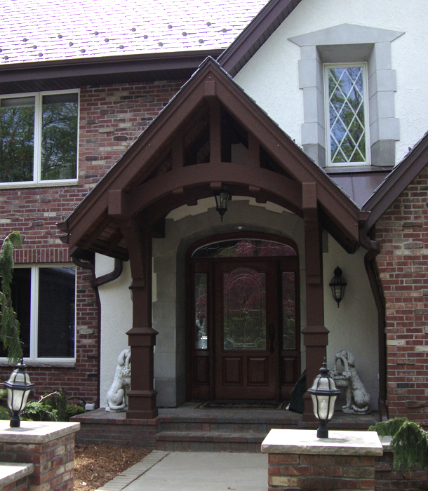 Residential Entry Canopy & Residential Entry Canopy | Architectural Associates Ltd