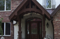 Residential Entry Canopy